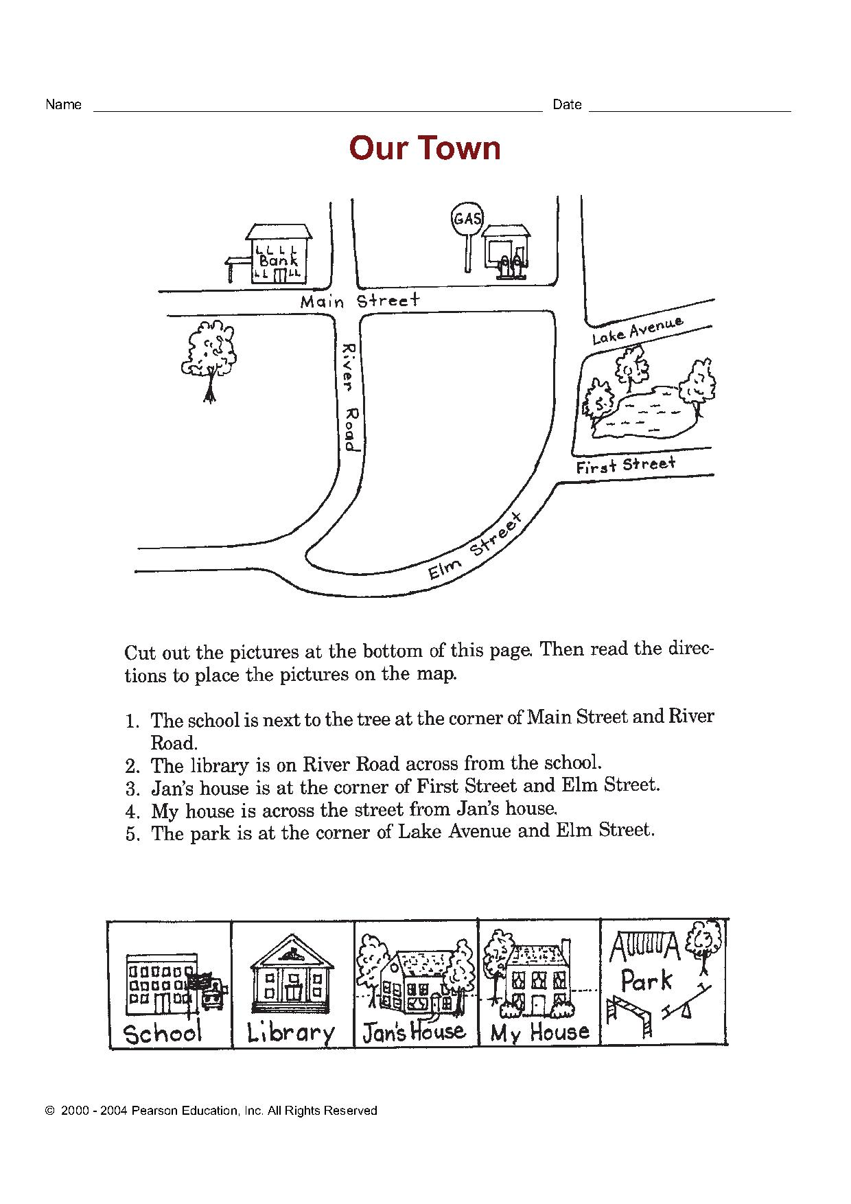 Рассказ о городе и деревни на английском языке 4 класс текст